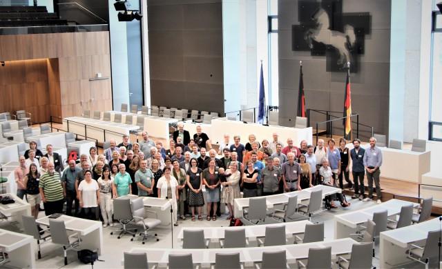 Teilnehmer*innen der Grünen Fraktionsvorsitzendenkonferenz am 25. Mai 2018